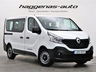 begagnad Renault Trafic Minibuss 1.6 dCi / 9-sits / Värmare / Drag