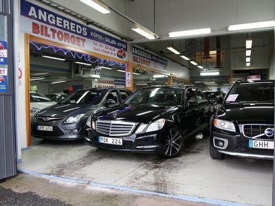 begagnad Mercedes E200 NGT AUTOMAT BlueEFFICIENCY