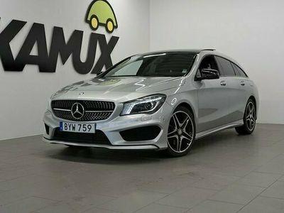begagnad Mercedes 220 CLA Benzd SB | Panorama | AMG | Automat 2016, Sportkupé Pris 216 900 kr