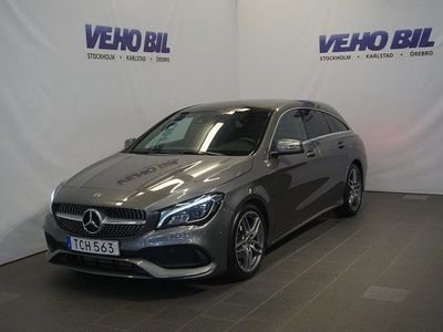 begagnad Mercedes CLA200 Shooting Brake AMG Backkamera Panorama