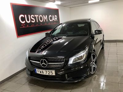 begagnad Mercedes CLA220 Shooting Brake D AMG Night pkt