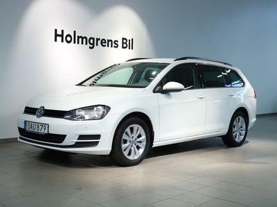 begagnad VW Golf VII Variant VII 1.6 TDI, SC, Automat 110hk, Kamera, Drag