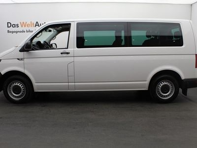 begagnad VW Caravelle T6lång hjulbas 2.0 TDI 150 HK DSG