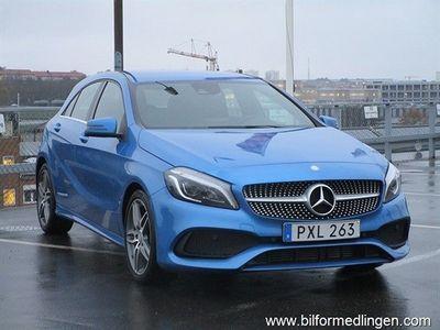 begagnad Mercedes 180 A-KlassAMG Sport V-däck Svensksåld