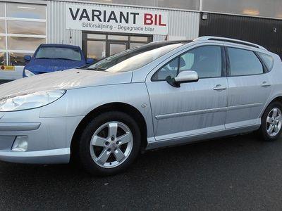 begagnad Peugeot 407 1,6 HDi Panorama Drag 25.000:-