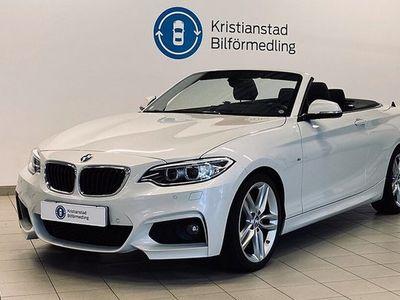 begagnad BMW 220 i Cab Aut M Sport Skinn 184hk