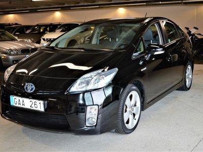 begagnad Toyota Prius Hybrid 1.8 VVT-i 3JM CVT 2013, Halvkombi 149 900 kr