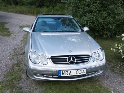 begagnad Mercedes CLK320 Coupé