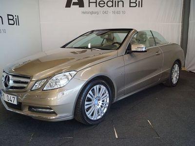 begagnad Mercedes E250 Cabriolet Elegance Paket