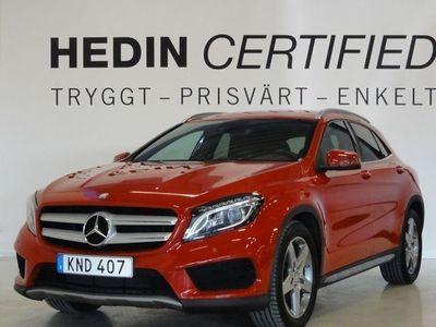 begagnad Mercedes GLA200 200 CDI 7G-DCT AMG Paket Euro 6 136hk