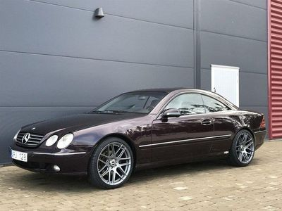 begagnad Mercedes CL500 Fullutrustad