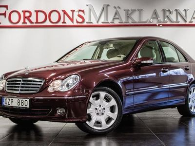 begagnad Mercedes C350 4 MATIC AUT 2691 MIL DRAG VÄRMARE
