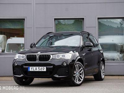 begagnad BMW X3 xDrive 20d 190hk M Sport Navi HiFi