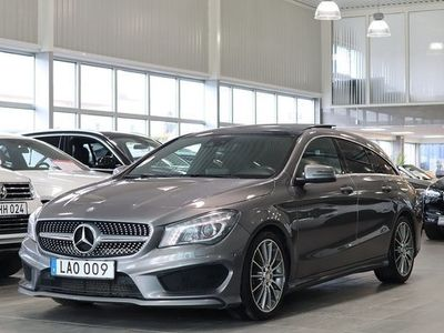 begagnad Mercedes 220 CLA Benzd 4MATIC Shooting Brake 7G-DCT AMG Panorama 2016, Sportkupé 224 000 kr