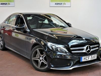 begagnad Mercedes C200 AMG Paddlar EU6 LED S&V-hjul