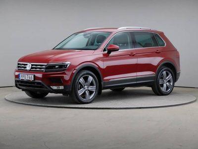 begagnad VW Tiguan 2.0 TDI DSG 4M Drag Värmare Skinn Elstolar
