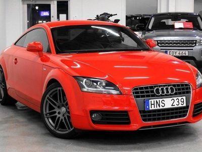 begagnad Audi TT Coupé 1.8 TFSI S-Line (160hk)