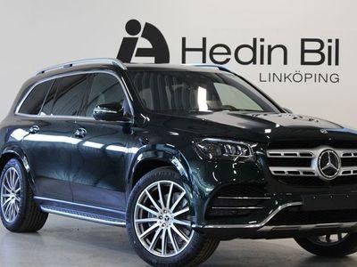 begagnad Mercedes GLS400 d 4MATIC AMG Line 360-graders Backkamera Dragkrok Parkeringsvärmare KEYLESS-GO