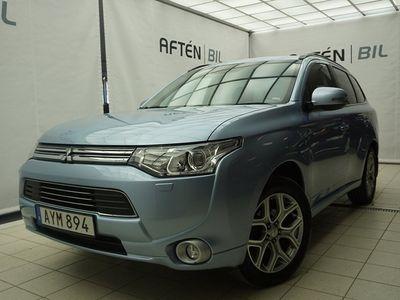 begagnad Mitsubishi Outlander P-HEV 2.0 Hybrid 4WD Business, Nav, Se Skick, Drag, V-