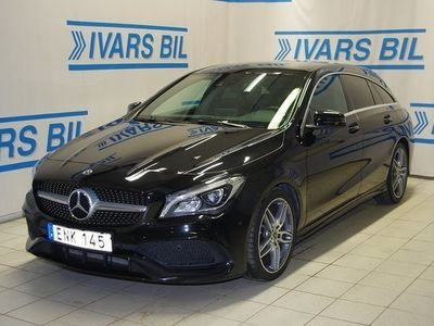 begagnad Mercedes 200 CLA BenzD Shooting Brake AMG 4-Matic 7G DCT 2018, Sportkupé 299 900 kr