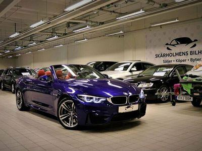 begagnad BMW M4 Cabriolet DKG NAV 1490MIL SAN MARINO 431HK KOLFIBER H&K