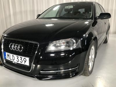 begagnad Audi A3 Sportback 1.6 TDI 2013, Halvkombi 82 000 kr