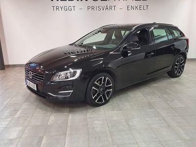 begagnad Volvo V60 D3 Momentum 1Ägare VINTERHJUL 2017, Kombi 204 900 kr