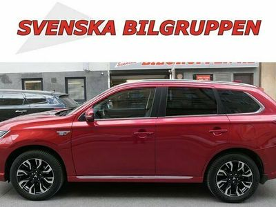 begagnad Mitsubishi Outlander P-HEV 2.0 Hybrid 4WD Drag skinn Nav 2016, SUV Pris 189 900 kr