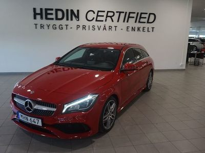 begagnad Mercedes CLA220 Shooting Brake SB 177hk AMG