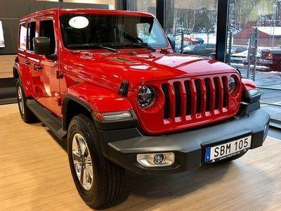 begagnad Jeep Wrangler 2.0T 271HK 4WD SAHARA 8ATX *Finns i Akalla*