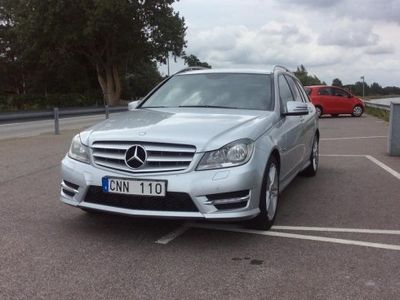 begagnad Mercedes C220 AMG Paket -12