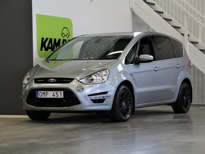 used Ford S-MAX 2,0 TDCi Business 7-Sits Panorama