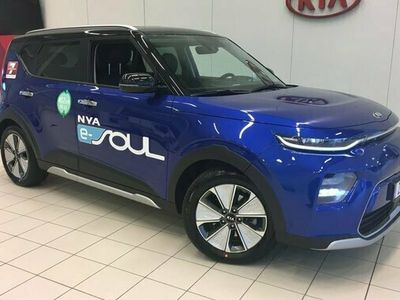 begagnad Kia Soul e- Nya e- Advance Plus SUV LONG RANGE 2021, Halvkombi Pris 378 800 kr