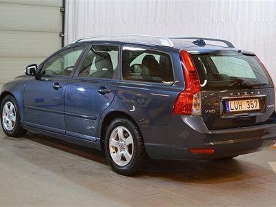 begagnad Volvo V50 V50D2 6vxl Skinn -12