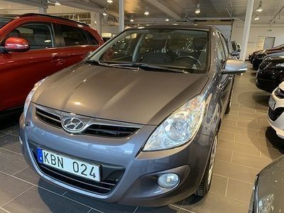 begagnad Hyundai i20 5-dörrar 1.2 77hk E-sense