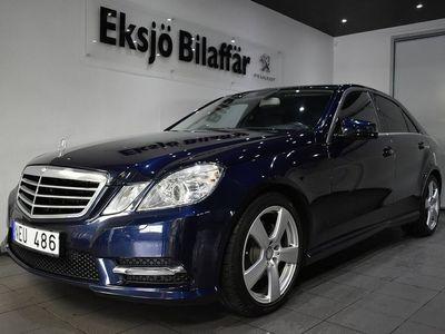 begagnad Mercedes 220 E-KlassCDI Sedan 7G-Tronic 170hk AMG -PKT