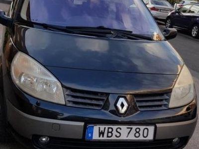 begagnad Renault Mégane Grand Scenic 7 sitsig 1.6