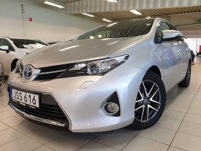 used Toyota Auris 1,8 Elhybrid 5D Edition Feel / Navi / M-värmare / V-hjul