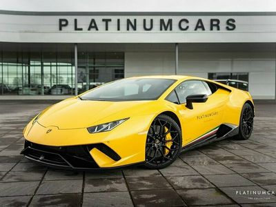 begagnad Lamborghini Huracán PERFORMANTE LP640-4 FORGED CARBON / LIFT