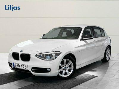 begagnad BMW 118 d Sport line