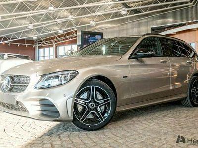 begagnad Mercedes C300 C Benzde AMG Night & Premiumpaket 2021, Kombi Pris 538 900 kr