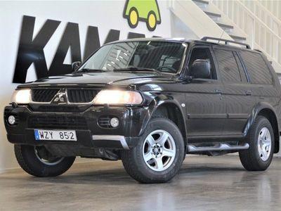 begagnad Mitsubishi Pajero Sport | 3.0 | V6 | 4WD | Automatisk | 177hk | 2006