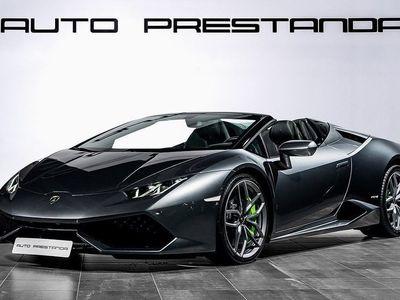 begagnad Lamborghini Huracán HuracánSpyder 610Hk V10
