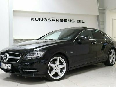begagnad Mercedes CLS350 CDI AMG NAVI TAKLUCKA H&K V-hjul 265hk