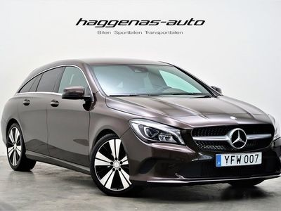 begagnad Mercedes CLA220 Shooting Brake CDI / Exclusive