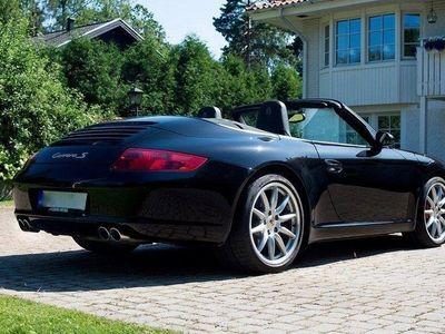 begagnad Porsche 911 Carrera S Cabriolet 997 3.8 *Manuell* -08