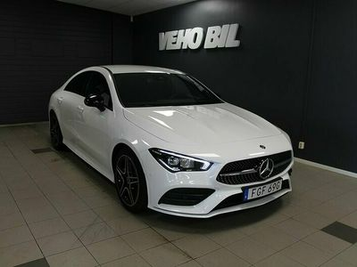 begagnad Mercedes CLA220 4-Matic Coupe AMG