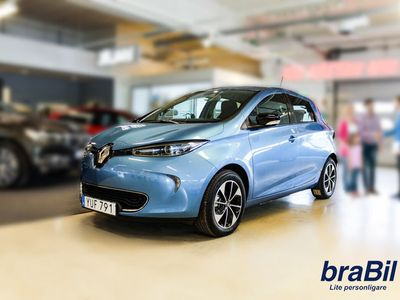 begagnad Renault Zoe 109 hk 41 kWh Intens batteriköp I