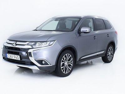 begagnad Mitsubishi Outlander 2.0 4WD CVT Euro 6 150hk -18