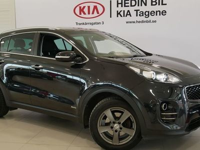 begagnad Kia Sportage 2.0CRDI AWD 185HK / V-hjul / Drag / 19''